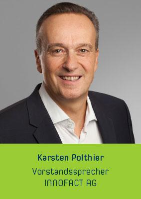Karsten Polthier Vorstandssprecher INNOFACT AG